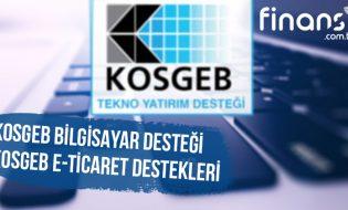 KOSGEB Bilgisayar Desteği Yazılım ve Teknik Servis